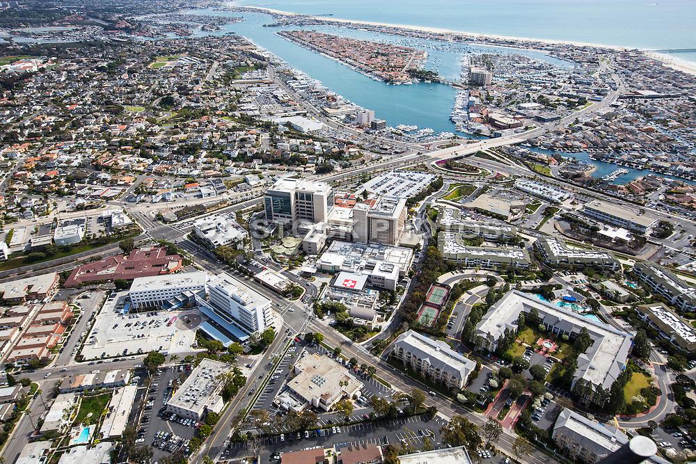 Aerial Stock Photo of Newport Beach
