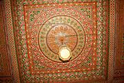 Islamic design motif Bahia Palace, Old City of Marrakesh, Morocco