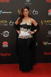 Celebrities arrive on the red carpet for the Australian Academy Cinema Television Arts (AACTA) Awards at The Star, Pyrmont. 05 Dec 2018 Pictured: Allanah Zitserman. Photo credit: Richard Milnes / MEGA TheMegaAgency.com +1 888 505 6342