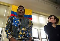St Paul's School MLK workshops.  ©2018 Karen Bobotas Photographer