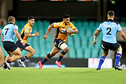 Irae Simone. NSW Waratahs v ACT Brumbies. 2021 Super Rugby AU Round 7 Match. Played at Sydney Cricket Ground on Friday 2 April 2021. Photo Clay Cross / photosport.nz