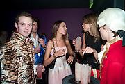 AMBER LE BON; SABRINA PERCY, The Tatler Little Black Book party. Chinawhite club. London. 21 November 2009