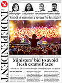 February 25, 2021 (UK): Front-page: Today's Newspapers In United Kingdom