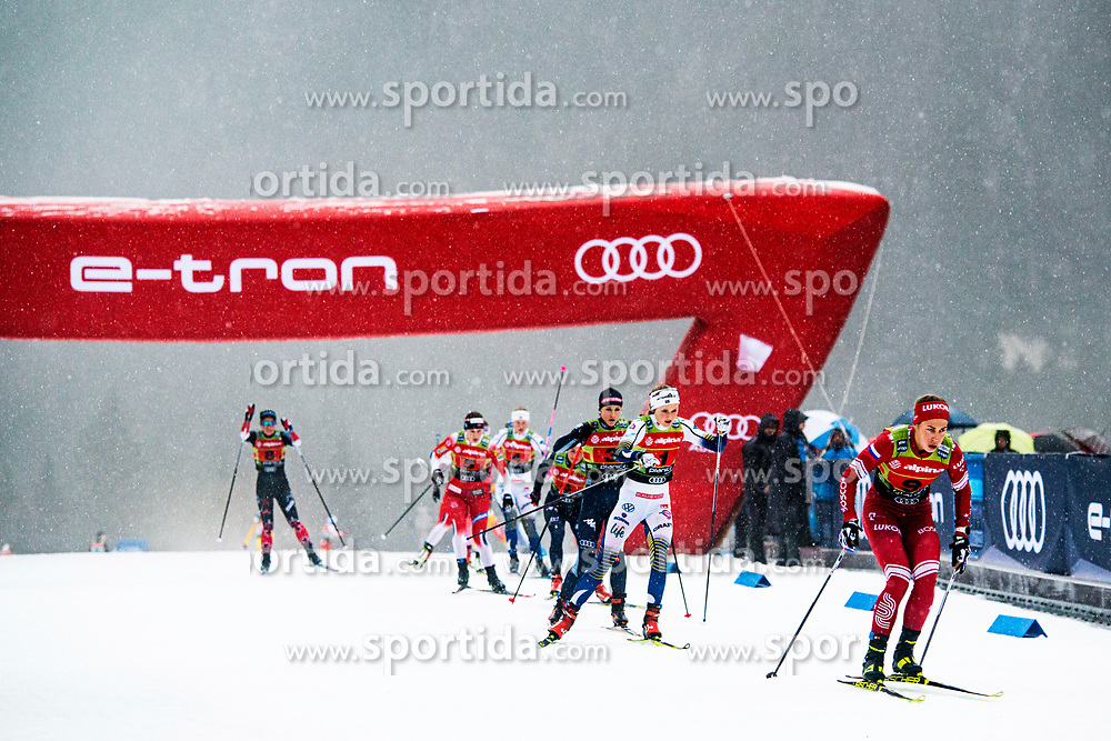 Hristina Matsokina (RUS), Stina Nilsson (SWE) during Ladies team sprint race at FIS Cross Country World Cup Planica 2019, on December 22, 2019 at Planica, Slovenia. Photo By Peter Podobnik / Sportida