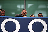 BBC Match of the Day presenter Gary Lineker looks on from the stands. Barclays Premier league match, Chelsea v Manchester Utd at Stamford Bridge in London on Sunday 7th February 2016.<br /> pic by John Patrick Fletcher, Andrew Orchard sports photography.