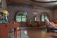 Bloomingburg, New York - Interior real estate photographs of a home that was a former railroad station on Aug. 2, 2016.