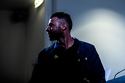 October 1, 2018 - Turin, Turin/Piedmont, Italy - Andrea Barzagli (Juventus) during the press conference before the UEFA Champions League group stage match between Juventus and Young Boys at the Juventus Stadium. (Credit Image: © Alberto Gandolfo/Pacific Press via ZUMA Wire)