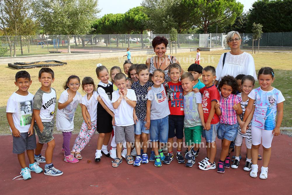 CLASSE 1A SAN GIUSEPPE DI COMACCHIO<br /> FOTO CLASSI PRIME ELEMENTARI