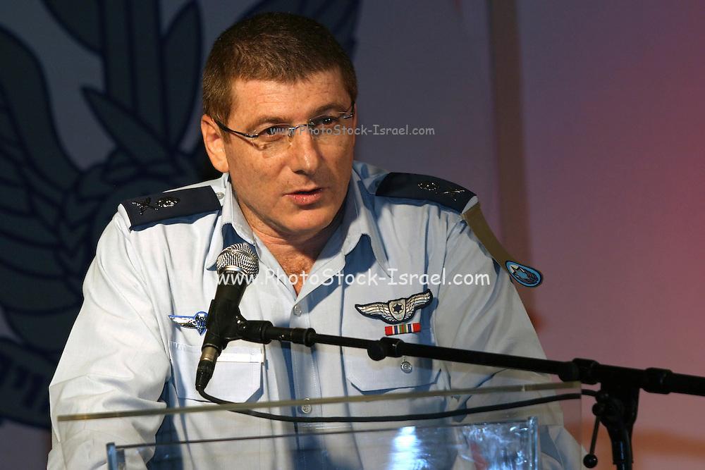 Israel Air Force Commander Maj. Gen. Elyezer Shkedy February 2006