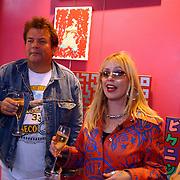 Opening Stip galerie, Michel Romeijn en Louise Schiffmacher - van Teijlingen