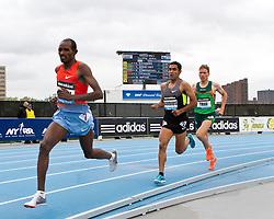 adidas Grand Prix track & field: Diamond League professional meet, mens 5000 meters, Ibrahim JEILAN, Ethiopia
