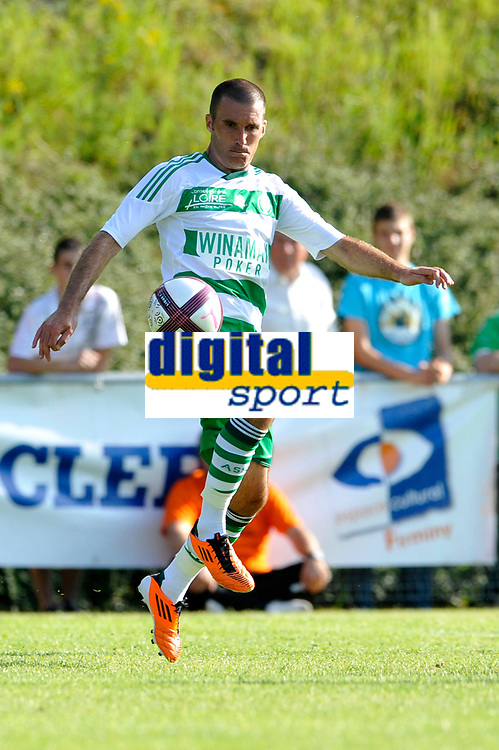 FOOTBALL - FRIENDLY GAMES 2011/2012 - AS SAINT ETIENNE v FC ISTRES  - 8/07/2011 - PHOTO GUY JEFFROY / DPPI - LAURENT BATLLES (ASSE)