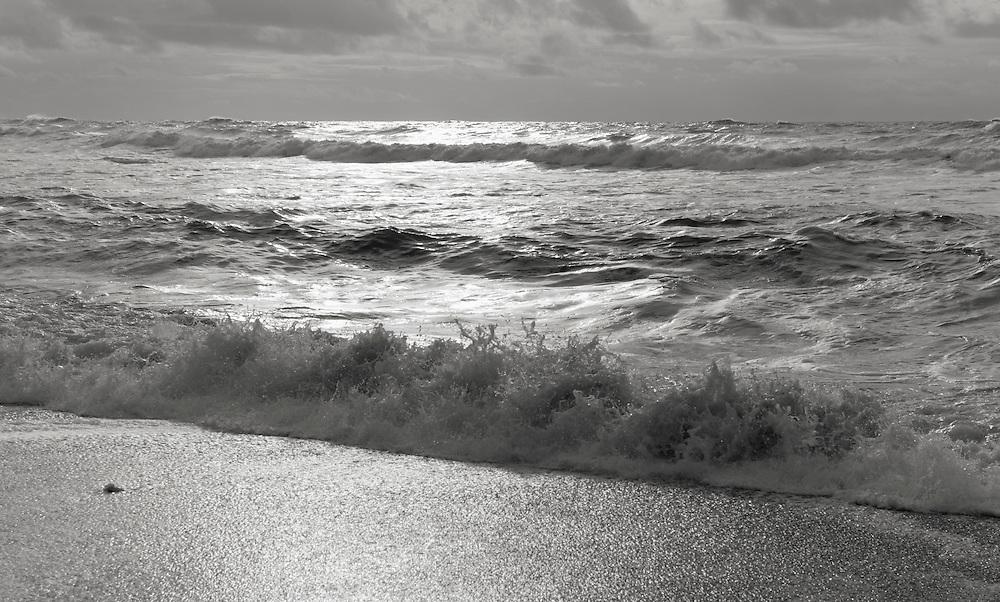 Pacific Ocean in winter at Rialto Beach Washington USA&#xA;<br />