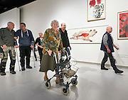 's-HERTOGENBOSCH Bewoners van verzorgingstehuis gaan op de motor naar Stedelijkmuseum