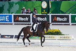 Adrienne Lyle, (USA), Wizard - Grand Prix Special Dressage - Alltech FEI World Equestrian Games™ 2014 - Normandy, France.<br /> © Hippo Foto Team - Leanjo de Koster<br /> 25/06/14
