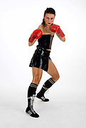 Angel McKenzie, originally from Russia, one of the only 11 professional female boxers who represent UK as a professional fighter.