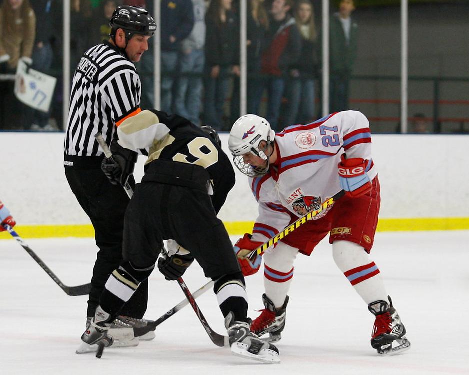 Saint Joseph's High School Hockey 2009-2010.