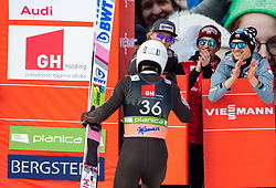 Piotr Zyla (POL) celebrates with his teammates during the 2nd Round of the Ski Flying Hill Individual Competition at Day 2 of FIS Ski Jumping World Cup Final 2019, on March 22, 2019 in Planica, Slovenia. Photo by Vid Ponikvar / Sportida