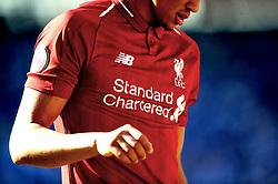The shirt of Trent Alexander-Arnold of Liverpool- Mandatory by-line: Nizaam Jones/JMP - 21/04/2019 -  FOOTBALL - Cardiff City Stadium - Cardiff, Wales -  Cardiff City v Liverpool - Premier League