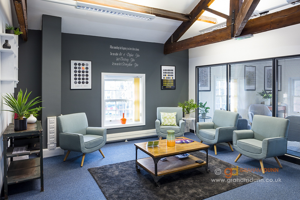 Office interior photography commission - South Yorkshire