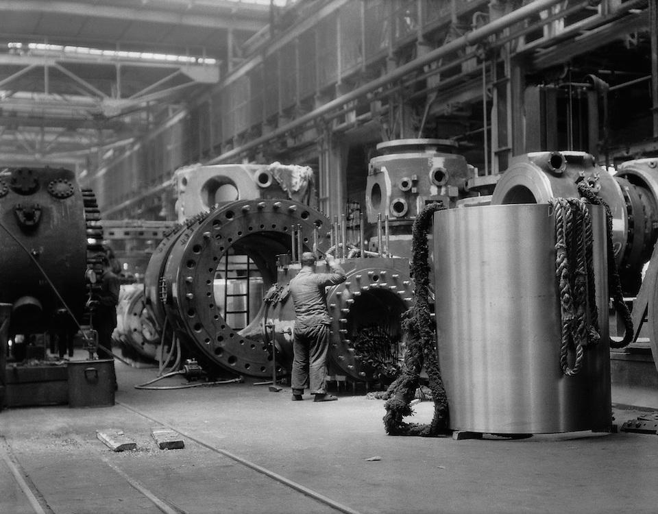 Worker, MAN Maschinenfabrik Augsburg-Nürnberg, Nürnberg, 1928