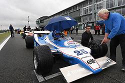 July 1, 2017 - Cicuit Nevers Magny-Cours, France - Pierre Alain France sur Ligier JS 11/15 (ex Jacques Laffite et Didier Pironi) sur la grille de depart (Credit Image: © Panoramic via ZUMA Press)