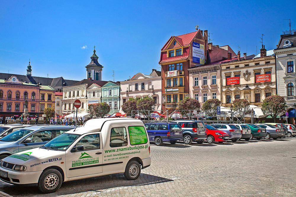 Rynek w Cieszynie, Polska<br /> Market place in Cieszyn, Poland
