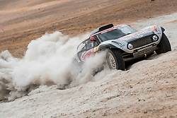 Cyril Despres (FRA) of X-raid MINI JCW Team races during stage 04 of Rally Dakar 2019 from Arequipa to o Tacna, Peru on January 10, 2019 // Marcelo Maragni/Red Bull Content Pool // AP-1Y39E6SP91W11 // Usage for editorial use only // Please go to www.redbullcontentpool.com for further information. //