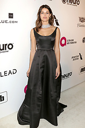 February 24, 2019 - West Hollywood, CA, USA - LOS ANGELES - FEB 24:  Isabeli Fontana at the Elton John Oscar Viewing Party on the West Hollywood Park on February 24, 2019 in West Hollywood, CA (Credit Image: © Kay Blake/ZUMA Wire)