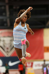 Don Kirby Invitational Indoor Track & Field<br /> Albuquerque, NM, Feb 14, 2020<br /> womens triple jump, Columbia