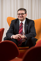 23 OCT 2014, BERLIN/GERMANY:<br /> Gerd Deimel, Vice President und Leiter Global Logistics Management LANXESS Deutschland GmbH, Hotel Intercontinental<br /> IMAGE: 20141023-02-030