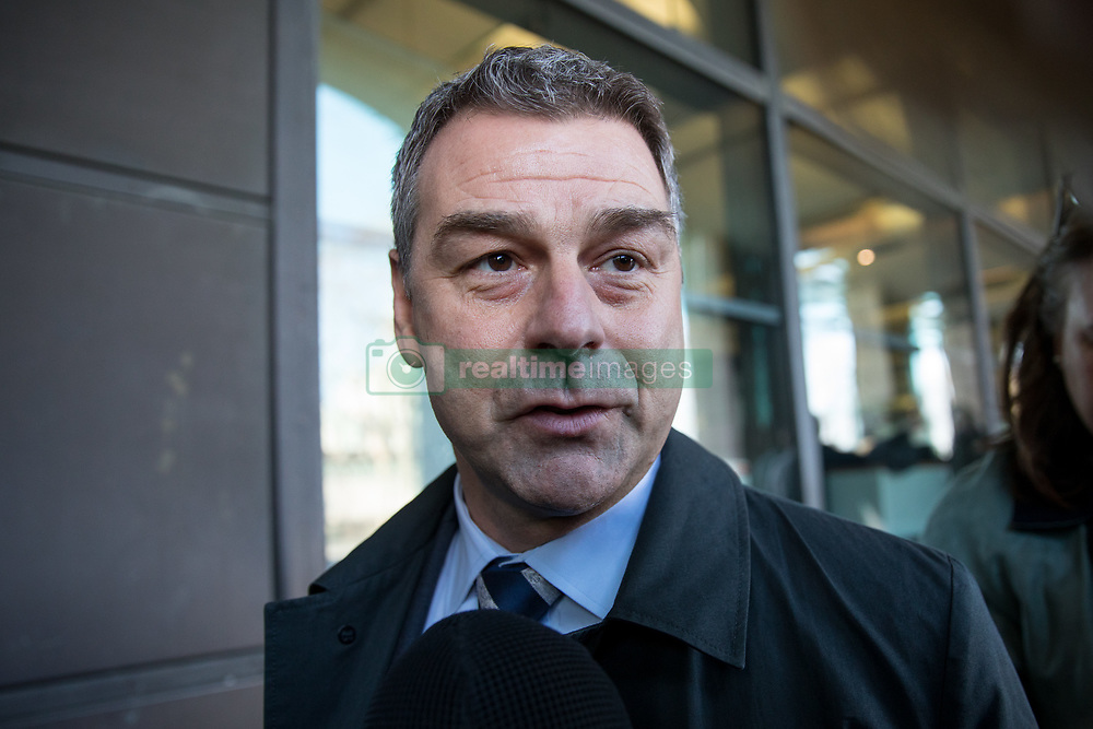 February 6, 2018 - London, London, UK - London, UK. Former Chief Executive of Carillion Richard Howson leaves Portcullis House after appearing before a Commons Select Committee. The company, who provide large contract services to the public sector, went into liquidation at the end of January. (Credit Image: © Tom Nicholson/London News Pictures via ZUMA Wire)