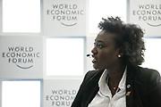 Liz Nabakooza Kakooza, Founder and Executive Director, Tumaini Foundation, Uganda speaking during the session Investing in Mental Health at the World Forum World Economic Forum on Africa 2019. Copyright by World Economic Forum / Greg Beadle