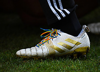 Rugby Union - 2019 / 2020 Gallagher Premiership - Harlequins vs. Gloucester<br /> <br /> Harlequins' Joe Marler wearing rainbow laces in support of Stonewall's 2019/20 campaign in support for all LGBT people, at The Stoop.<br /> <br /> COLORSPORT/ASHLEY WESTERN
