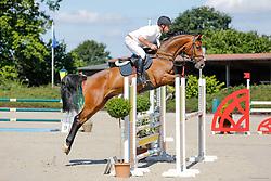 Springpferdeprfg. L, 5j. Pferde, CSN Ehlersdorf 17. - 19.07.2020 - Reitanlage Jörg Naeve, Urikano US - Schultz, Jan Philipp