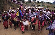 TODOS  SANTOS, Guatemala. Injured or drunken rider. Western Highlands, Huehuetenango, Todos Santos. Mayan traditional festival. Todos Santos Horse Race, the 'Skach Koyl' on All Saints Day 1st November; the 'Day of the dead' November 2nd. Mayan dances about Spanish 'Conquistadores' and Mayan Spirits, accompanied by marimbas take place October 31st.