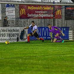 Swindon Supermarine hosts Shepton Mallet in the FA cup round one Final score 3-0 Swindon Supermarine Webbswood stadium Swindon Supermarine Swindon Wiltshire England UK 22/09/2020