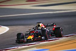 April 7, 2018 - Sakhir, Bahrain - RICCIARDO Daniel (aus), Aston Martin Red Bull Tag Heuer RB14, action during 2018 Formula 1 FIA world championship, Bahrain Grand Prix, at Sakhir from April 5 to 8  - Photo Sebastian Rozendaal / DPPI  (Credit Image: © Hoch Zwei via ZUMA Wire)