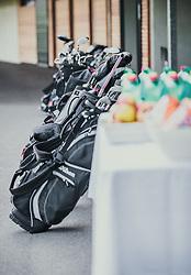 06.06.2019, Golfclub Zillertal, Uderns, AUT, Skijumpers Golf Trophy, im Bild Golfbags der Spieler // during the Skijumpers Golf Trophy at the Golfclub Zillertal, Uderns, Austria on 2019/06/06. EXPA Pictures © 2019, PhotoCredit: EXPA/Stefanie Oberhauser