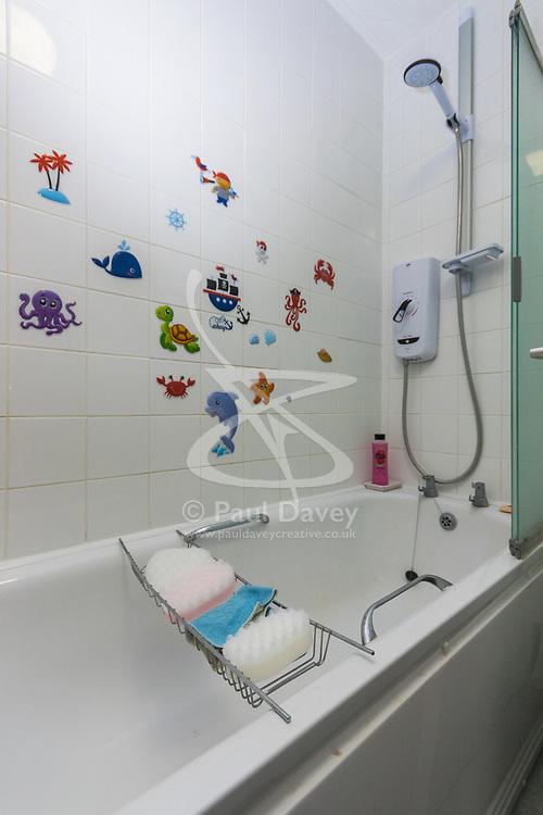 Bathroom at - 67 Glyndon Road, SE18 7PA. London, November 19 2018.