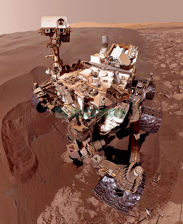 """PICTURE SHOWS: The NASA Mars Rover<br /> <br /> <br /> ....<br /> <br /> FULL WORDS AVAILABLE: info@cover-images.com<br /> <br /> <br /> The team behind NASA's Curiosity Mars rover has been working from home just like you – and controlling the vehicle from their living rooms. <br /> <br /> On March 20, 2020, nobody on the team was present at NASA's Jet Propulsion Laboratory in Southern California, where the mission is based. It was the first time the rover's operations were planned while the team was completely remote. Two days later, the commands they had sent to Mars executed as expected, resulting in Curiosity drilling a rock sample at a location called """"Edinburgh.""""<br /> <br /> When: 20 Mar 2020<br /> Credit: Cover Images/NASA/JPL-Caltech<br /> <br /> **Editorial use only**"""
