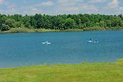 Kayaking on McLaran Island <br />Long Sault Parkway<br />Ontario<br />Canada