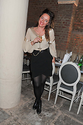 ALICE TEMPERLEY at an evening of cheesey culinary delights & champagne hosted by Alex James, Yasmin Mills and Elaine Foran held at Aubaine, 31 Dover Street, London on 20th March 2012.