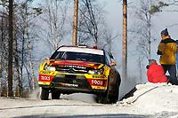 MOTORSPORT - WRC 2010 - RALLY SWEDEN - KARLSTAD (SWE) - 11 to 14/02/2010 - PHOTO : ALEXANDRE GUILLAUMOT / DPPI<br /> PETTER SOLBERG (NOR) / PHIL MILLS (GBR) - PETTER SOLBERG WRT - CITROEN C4 WRC - ACTION
