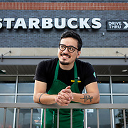 Carlos Lopez, SM Prince George's County, MD at Starbucks, 6300 Annapolis Rd., Hyattsville, MD on Thursday, September 3, 2020. John Boal photo/for Starbucks