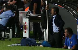August 24, 2017 - Fenerbache head coach Aykut Kocaman during Fenerbahce vs. Vardar UEFA Europe League Game at Ulker Stadium, Kadikoy, Istanbul, Turkey (Credit Image: © Depo Photos via ZUMA Wire)
