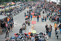 Lakeside Avenue in Weirs Beach during Laconia Motorcycle Week, New Hampshire, USA. Saturday June 17, 2017. Photography ©2017 Michael Lichter.