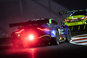 October 10, 2020. IMSA Weathertech, Charlotte ROVAL: #23 Heart Of Racing Team, Aston Martin Vantage GT3, ROMAN DE ANGELIS, Ian James