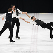 Ice Dance International performing In the Light, Choreographed by Edward Villella, in Portland, ME, February 2020