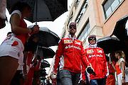 May 25-29, 2016: Monaco Grand Prix. Kimi Raikkonen (FIN), Ferrari, Sebastian Vettel (GER), Ferrari